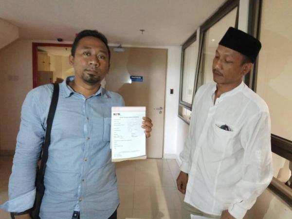 Almamater Laporkan Walikota Sukabumi dan PT AKA ke KPK