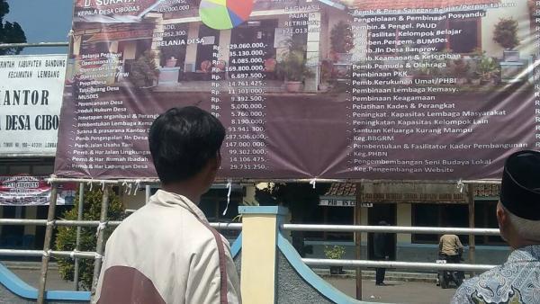 Pemdes Cibodas Transparan Pengelolaan Keuangan Desa