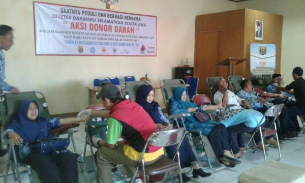 PMI Kesulitan Suplay Darah ke 13 Rumah Sakit di Sukabumi