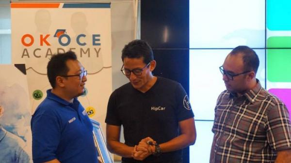 Resmikan OK OCE Academy, Sandiaga Yakin Pengangguran Berkurang