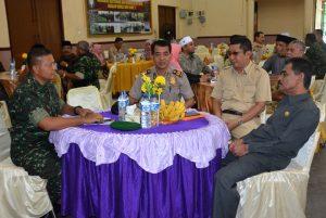 Korem 011 Llilawangsa Komunikasi Sosial dengan Pemkot Lhokseumawe dan Pemkab Aceh Utara