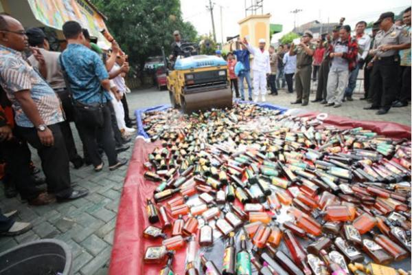Polisi Larang Ormas Sweeping Miras dan Narkoba Selama Ramadan