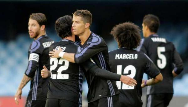 Lagi-lagi Cristiano Ronaldo Bikin Rekor saat Real Madrid Sikat Celta 4-1