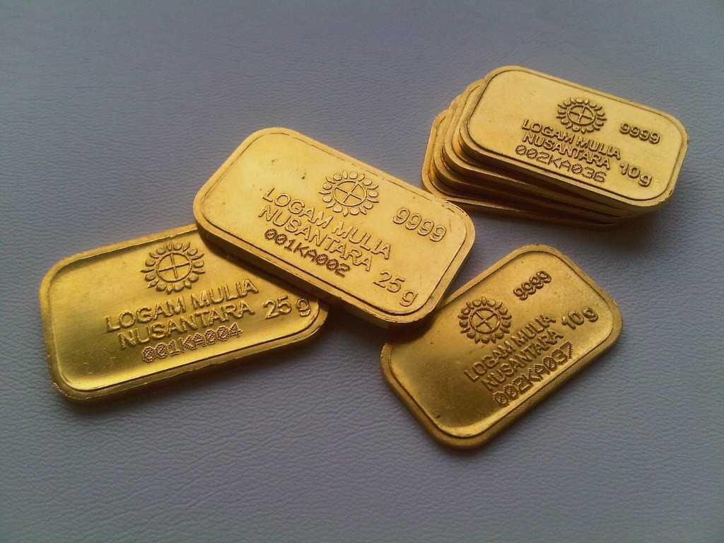 Hari Ini Harga Emas Antam Naik Jadi Rp 594000 Per Gram Spirit News
