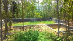 Embung air di Karawang Selatan