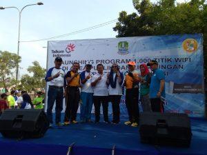 Pemkot Bekasi launching 1000 titik Wifi Gratis