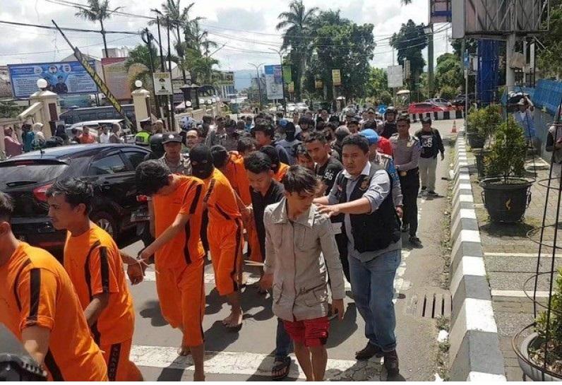 Polisi Gagalkan Perekrutan Anggota Baru Geng Motor di Sukabumi