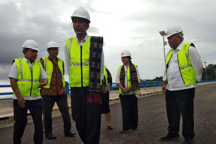 Rencana Buat 49 Bendungan di Indonesia, Jokowi Resmikan Bendungan Pertama di Kupang