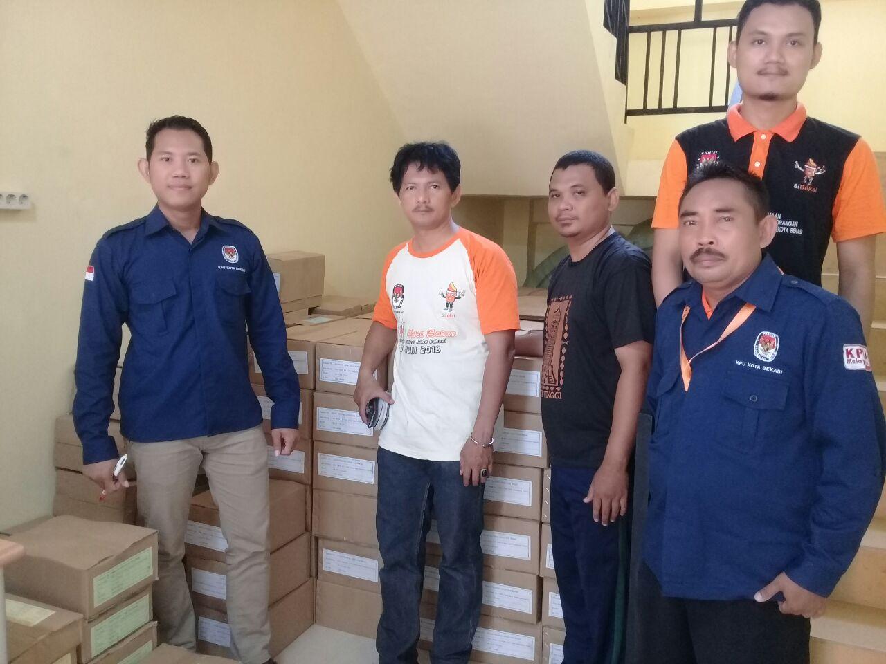 Hari ini, PPDP Se-Kota Bekasi Terima Logistik Pilgub Jawa Barat dan Pilkada Kota Bekasi