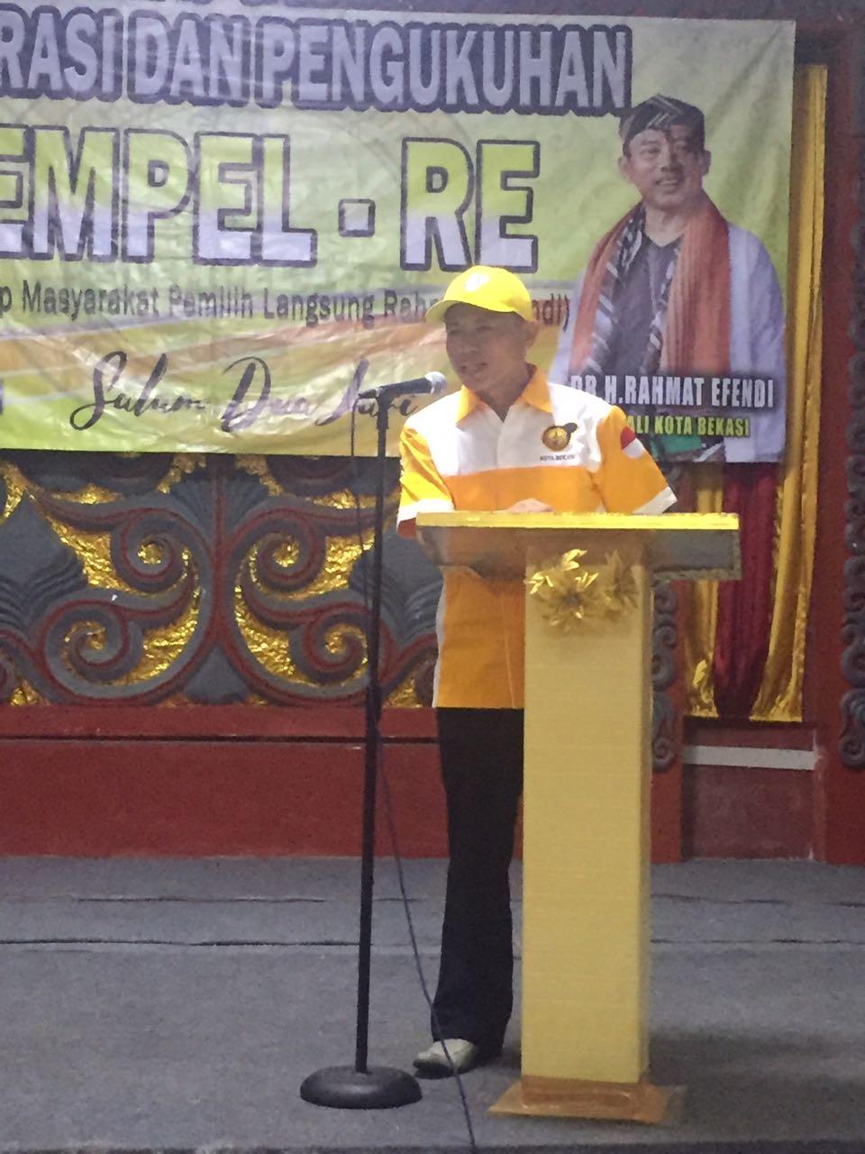 Hari Ini, Paslon Rahmat Effendi  dan Tri Dijadwalkan Akan Mendaftar ke KPUD Kota Bekasi