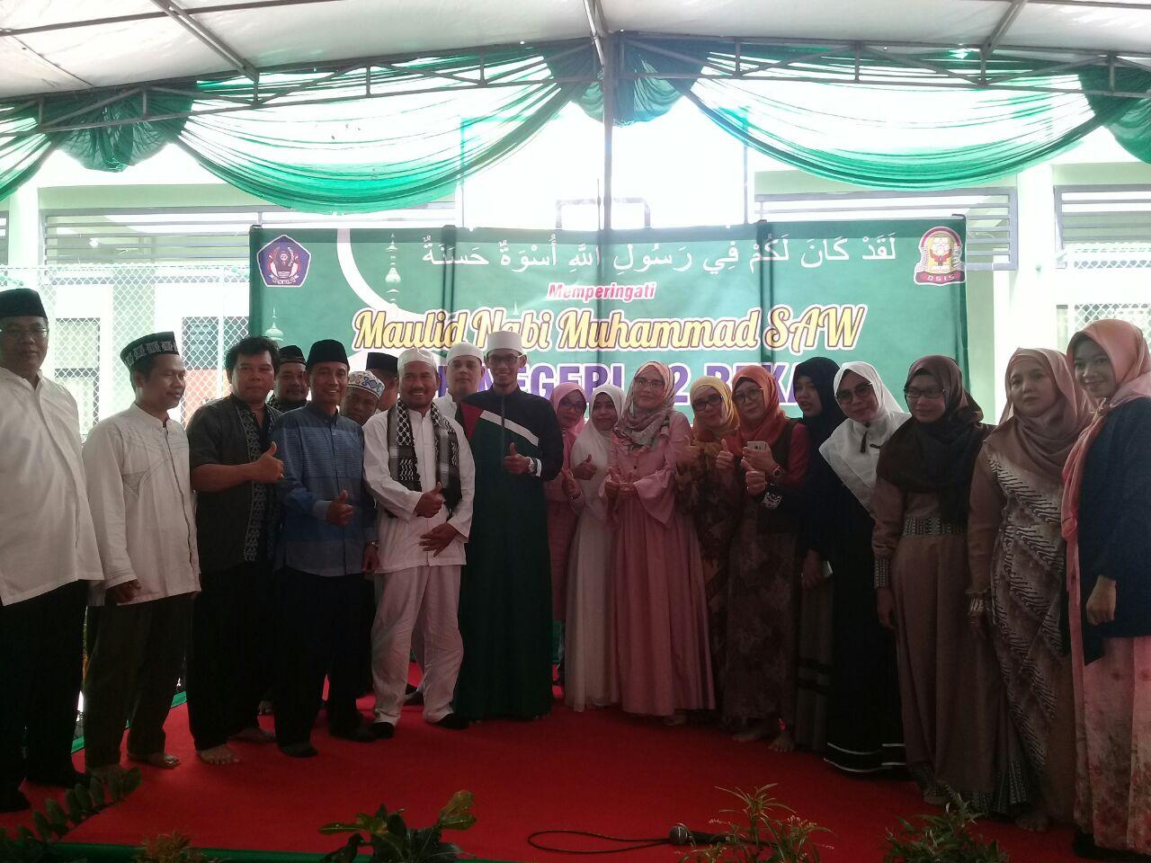 Ustad Tile Minta Pelajar SMPN 22 Kota Bekasi Tiru Nabi Muhammad SAW