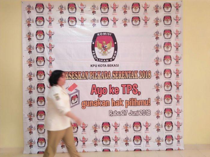 Hingga Sore Hari Kedua Pendaftaran Belum Ada Paslon Walikota dan Wakil Walikota Bekasi yang Datang ke KPU