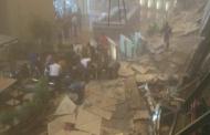 Gedung Bursa Efek Jakarta Roboh, Para Korban Dilarikan ke 3 Rumah Sakit