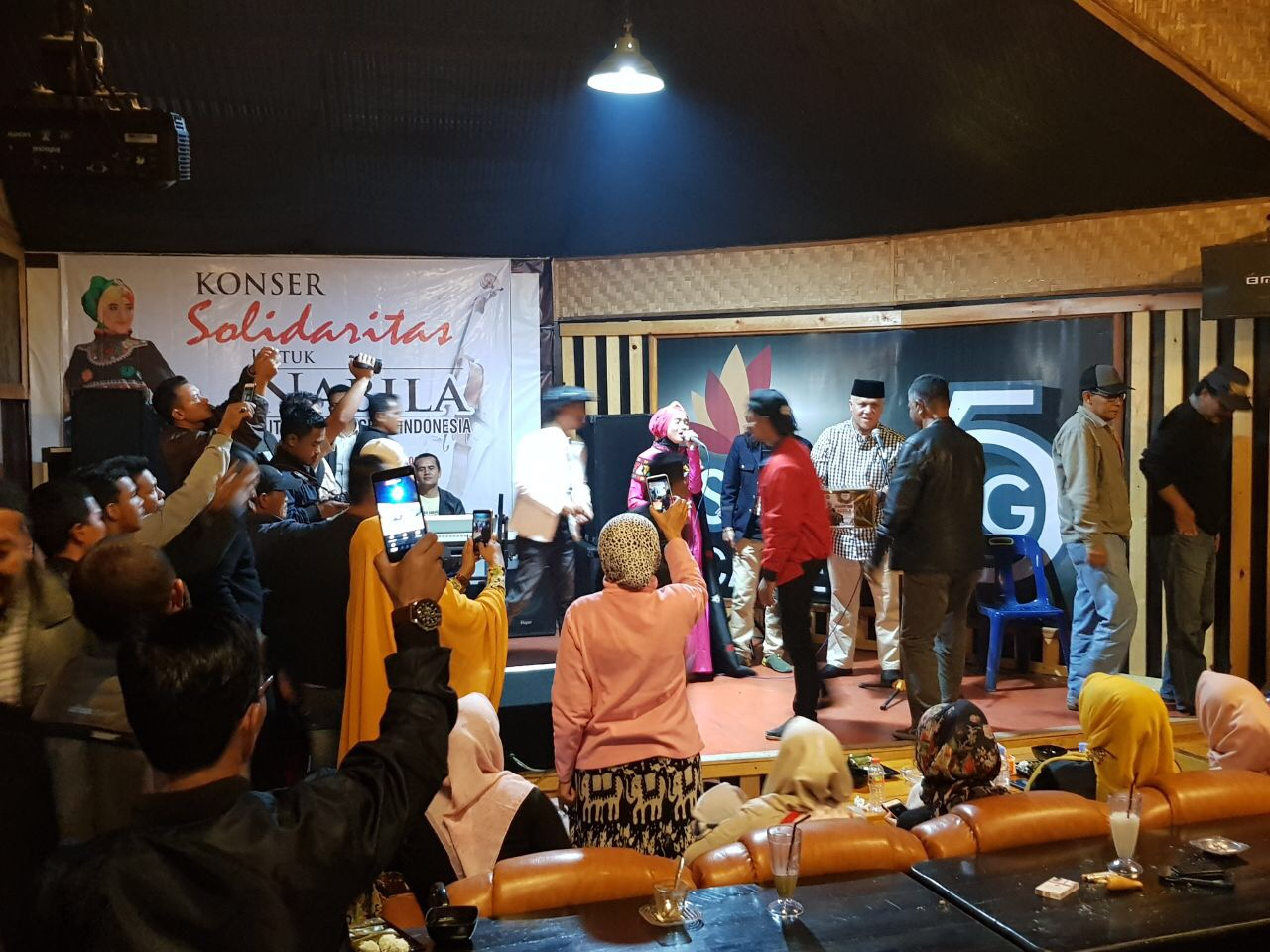 Shabela Himbau Masyarakat Aceh Tengah Dukung Nabila