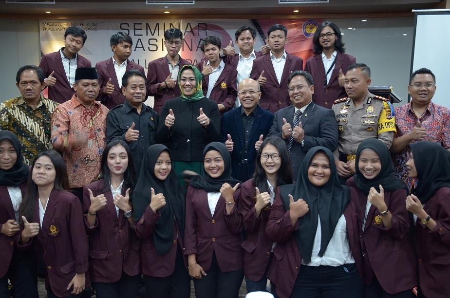 Mahasiswa Fakultas Hukum Unsika Diharapkan Tingkatkan Pengetahuan Tentang Hukum Indonesia