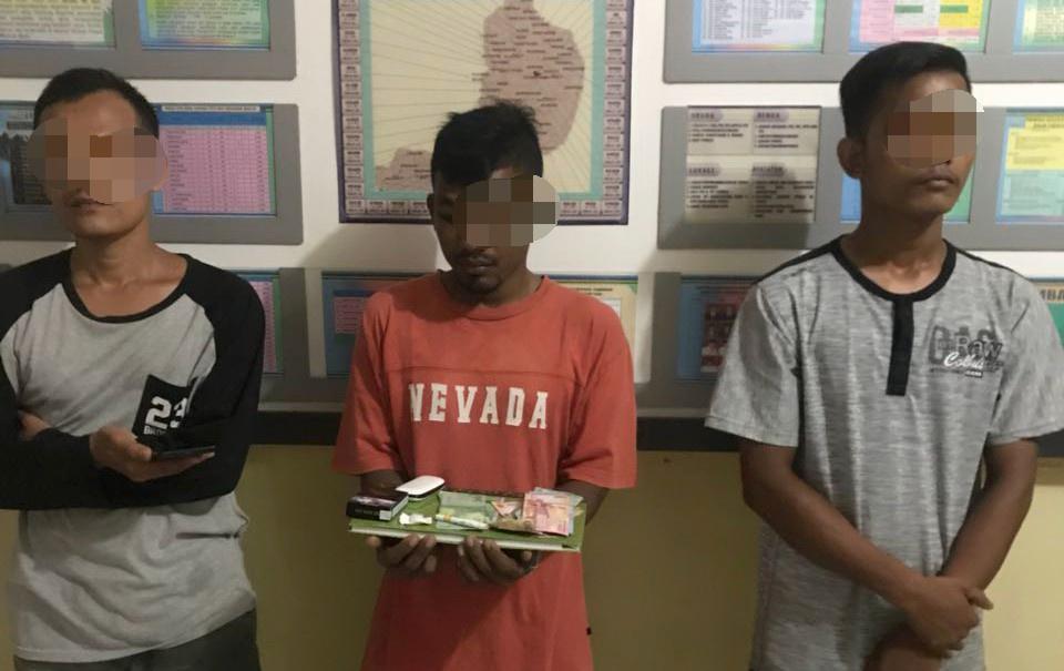 Diduga Pengguna dan Pengedar Narkoba, Tiga Pemuda Diciduk Polisi