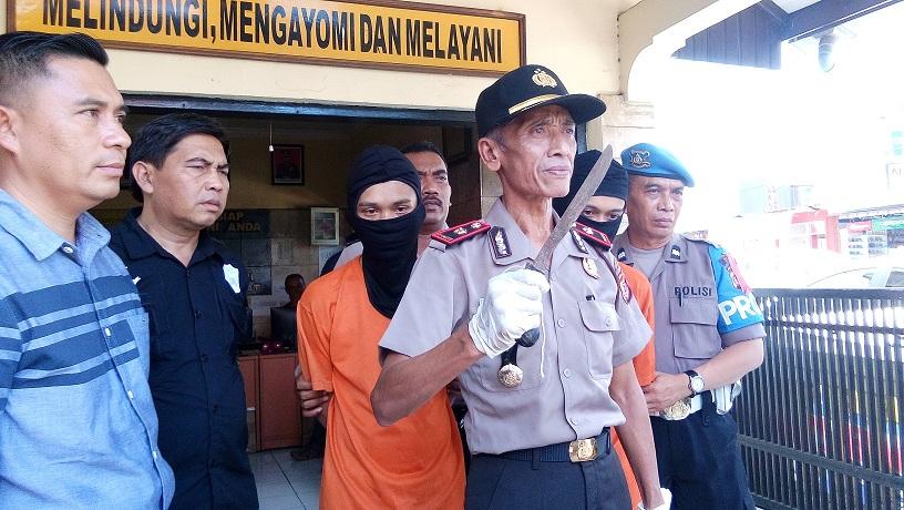 Diduga Menganiaya, Dua Anggota Geng GBR Diringkus Polsek Cipatat