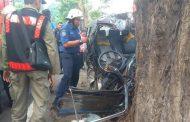 Kecelakaan Mobil Suzuki Carry Tabrak Pohon, Pengemudi Tewas