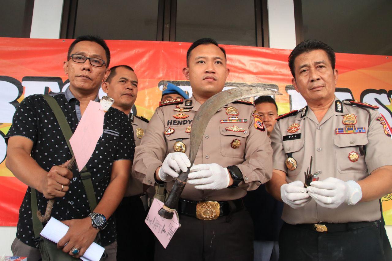 Anggota Polres Karawang Kembali Menembak Mati Pelaku Curanmor