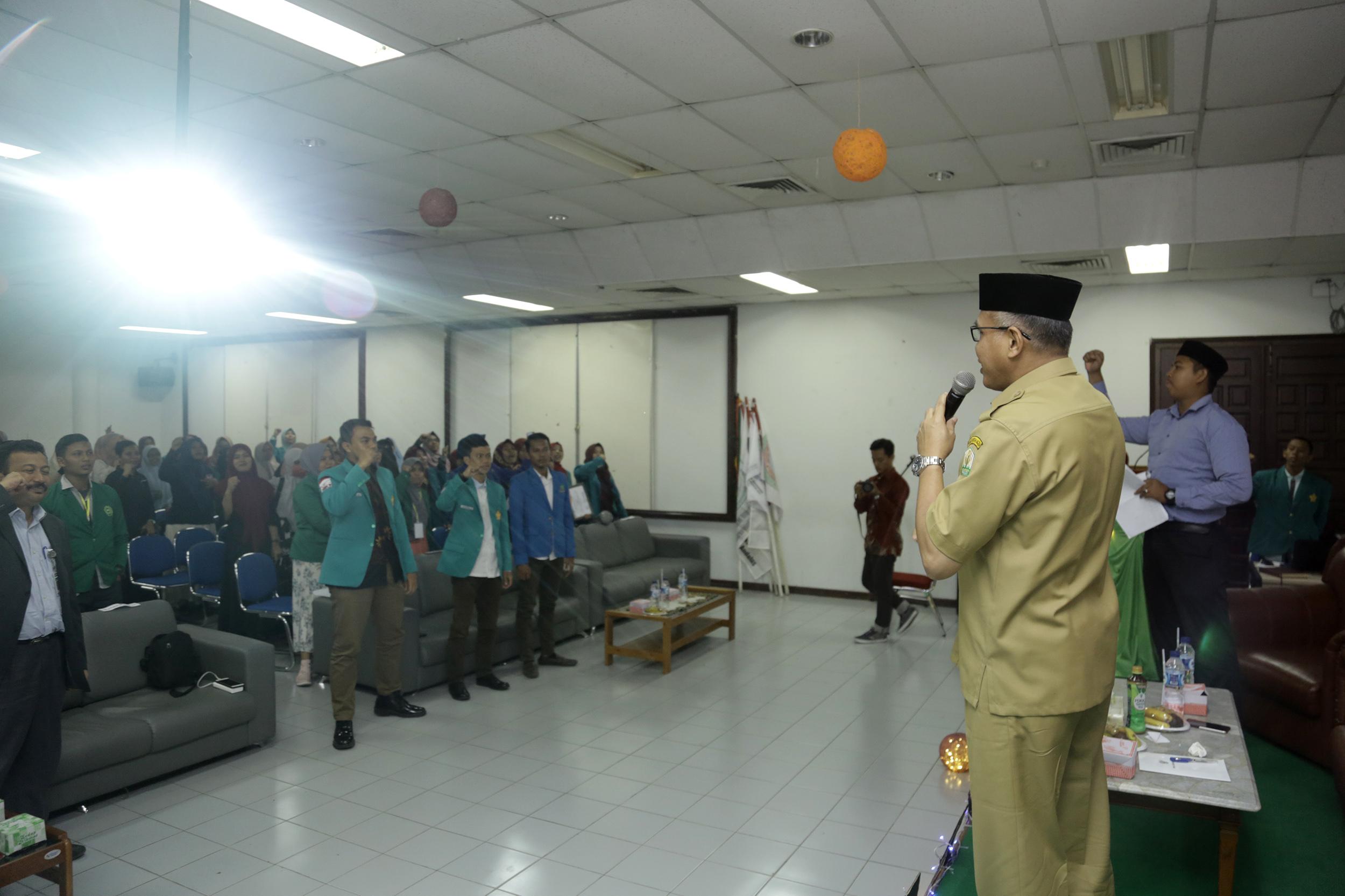 """Wagub Aceh: """"Hitam-Putih"""" Kelangsungan Bangsa Ada di Tangan Mahasiswa"""