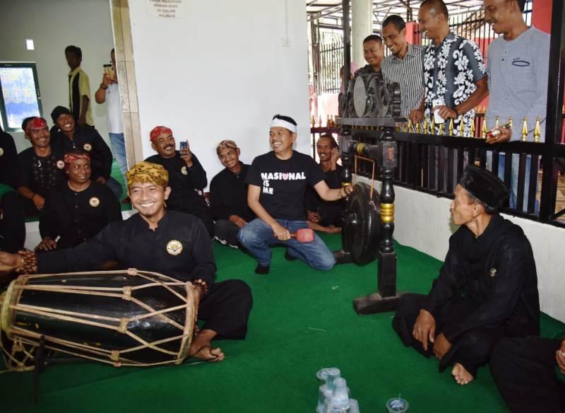 Dedi Mulyadi Siap Promosikan Tarompet ke Sunda Jazz Festival Berskala Internasional
