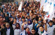 Buruh di Bandung Barat Siap Menangkan Pasangan Akur