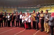 Komisi X DPR-RI Tinjau Kesiapan Stadion Chandrabaga Jelang Asian Games 2018