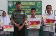 Tangkal Paham Radikalisme di Kalangan Pelajar, Kodim 0104/Aceh Timur Gelar Lomba Melukis Tingkat SMA