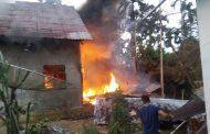 Satu Rumah di Kawasan Cot Girek Hangus Terbakar