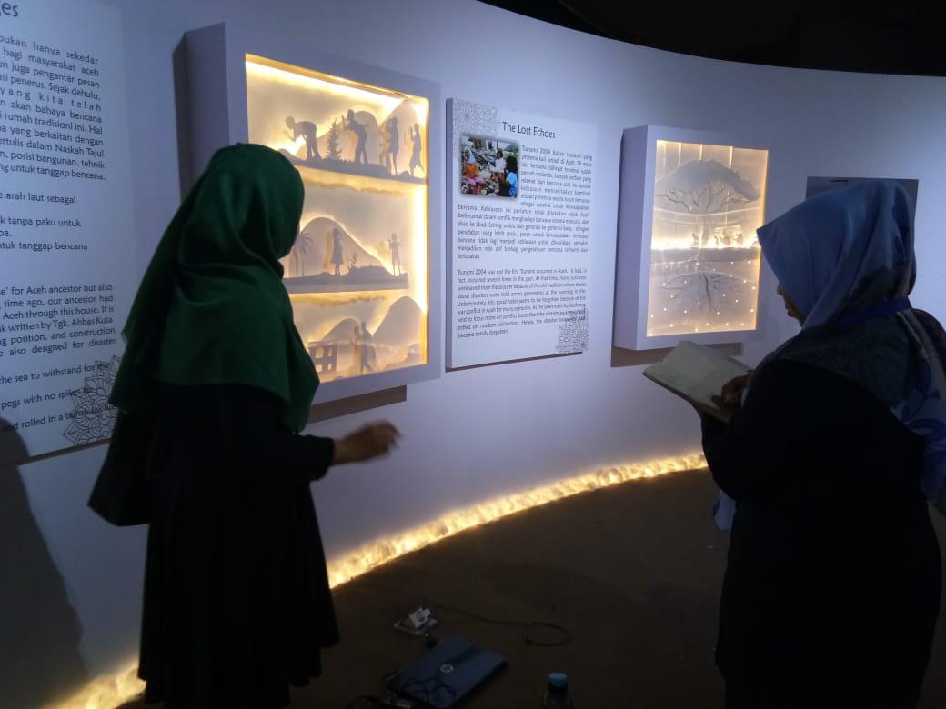 Eksibisi Temporer Museum Tsunami Ikut Meriahkan Pekan Kebudayaan Aceh