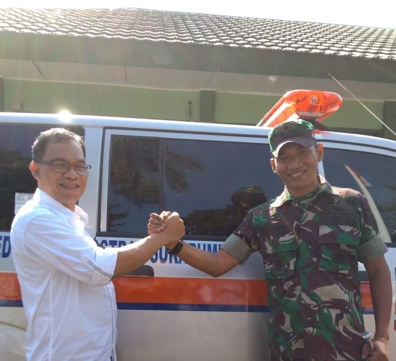 BRI Berikan Ambulance untuk Armed 13 Kabupaten Sukabumi
