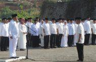 Hormati Santri, ASN Bandung Barat Gunakan Busana Muslim dalam Apel Pagi