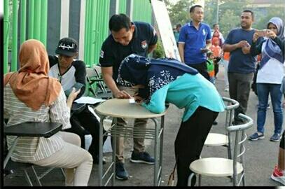 Tingkatkan Parsitipasi Pemilu 2019, KPU Kota Bekasi Buka Posko GMHP