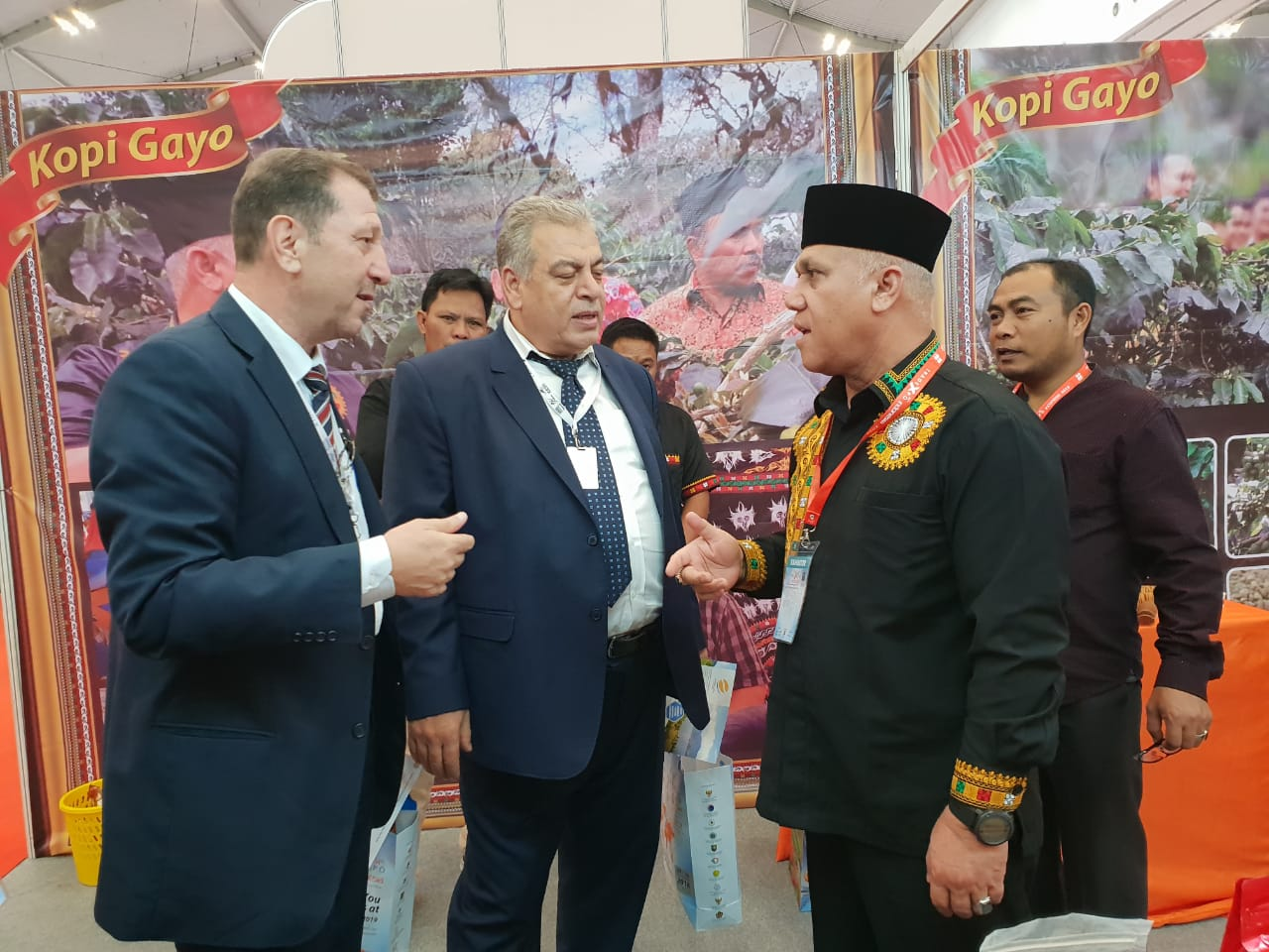Kopi Gayo Ramaikan Trade Expo Indonesia 2018