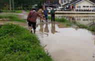 Camat Makmur Minta Pemkab Bangun Saluran Air di Lokasi Banjir