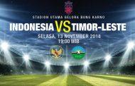 Prediksi Pertandingan Indonesia vs Timor Leste