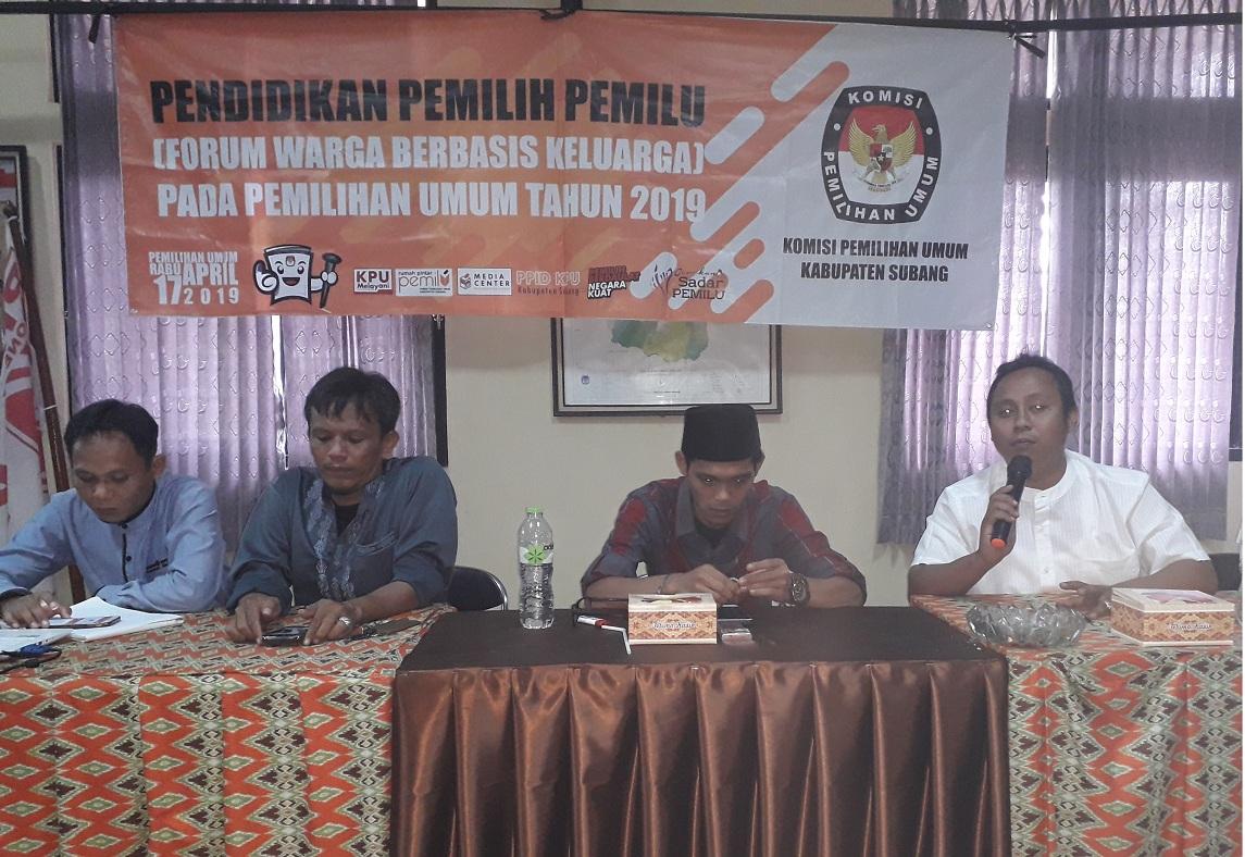KPU Subang Optimis Tatap Pemilu 2019