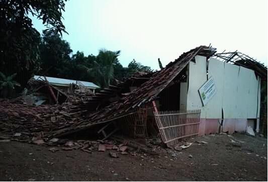 Lagi, Ada Sekolah Ambruk di Karawang