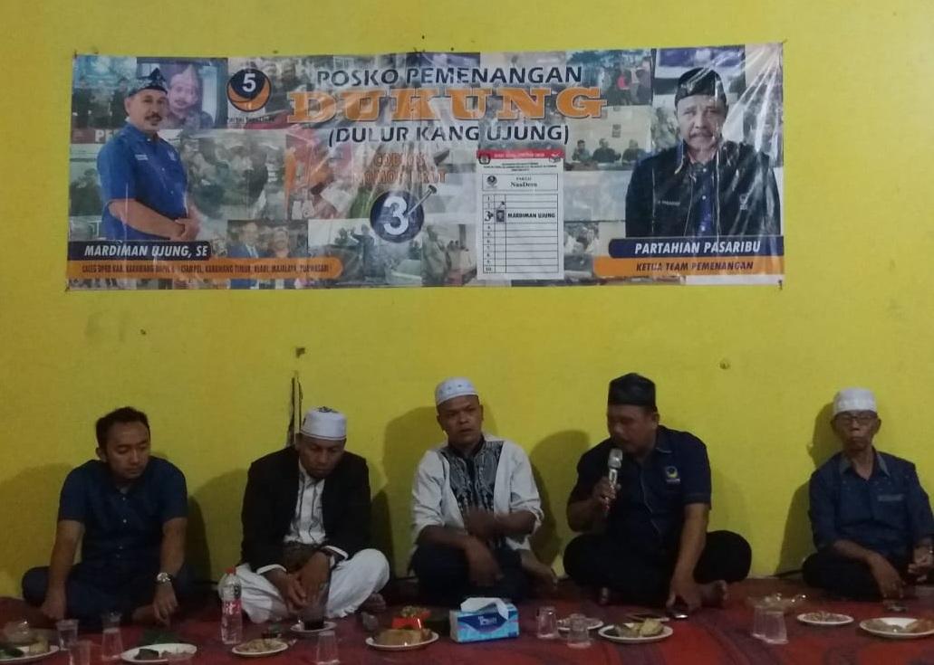 Silaturahmi Tokoh Batak dan Masyarakat Karawang untuk Menangkan Mardiman Ujung
