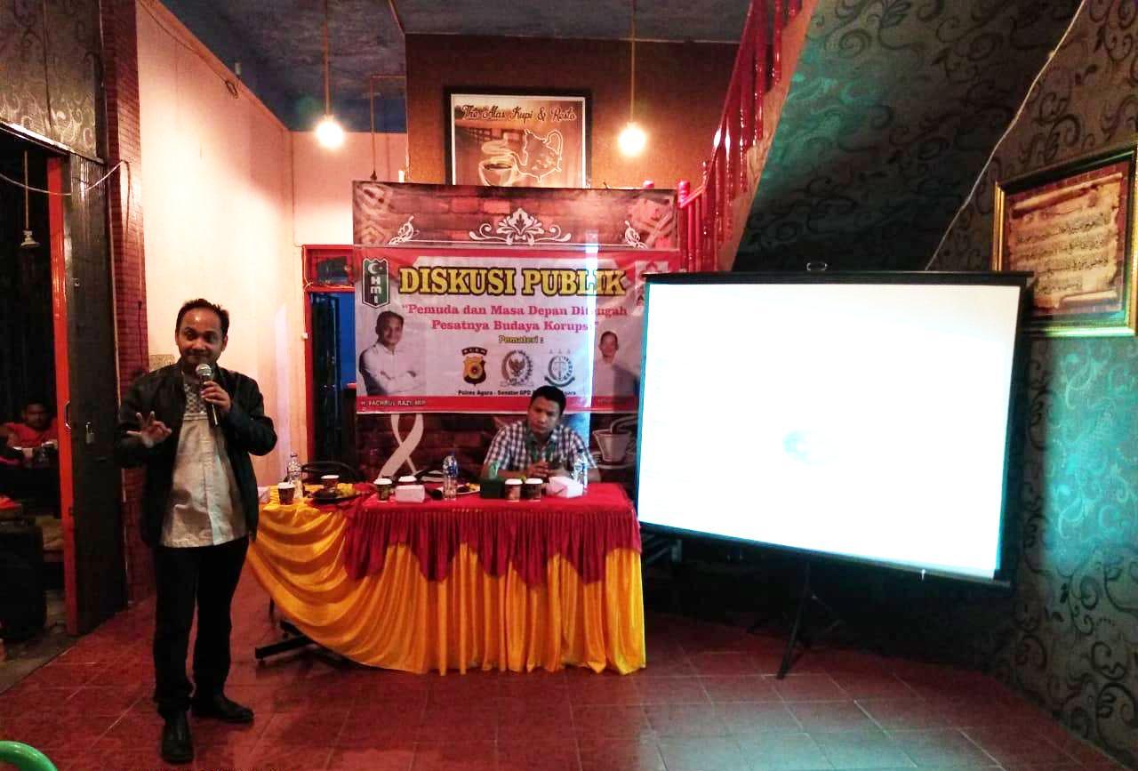 Senator Aceh dan HMI Perkuat Jaringan Anti Korupsi di Aceh Tenggara