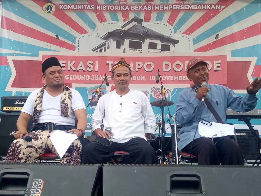 Pemerhati Budaya Apresiasi Pelaksanaan Festival Bekasi Tempo Doeloe