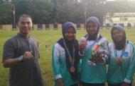 Perpani Beregu Putri Kota Langsa Sabet Medali Perunggu di Pora XIII Aceh Besar