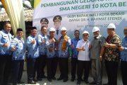 PT Hasanah Damai Putra Bangun Ruang Kelas Baru SMAN 10 Kota Bekasi