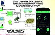 BLK Lembang Ciptakan Aplikasi Smart Farming Bagi Petani