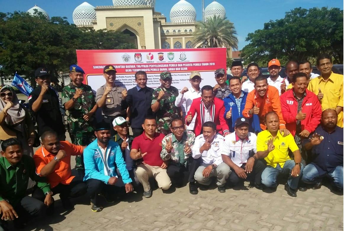 Deklarasi Gabungan Aceh Utara dan Lhokseumawe untuk Mewujudkan Pemilu Damai
