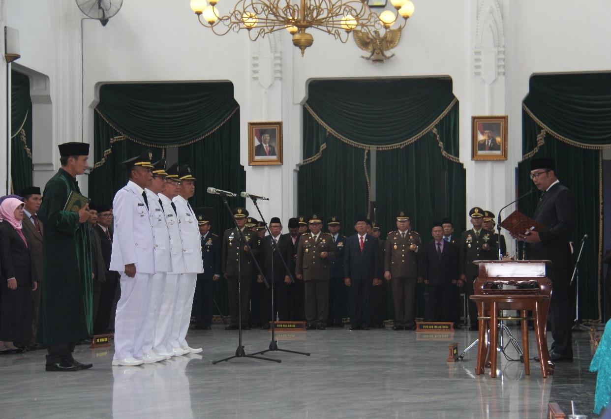 Kepala Daerah Baru di Jawa Barat Diminta Jaga Integritas