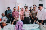 Wakil Walikota Jenguk Warga Bekasi yang Jadi Korban Tsunami Banten