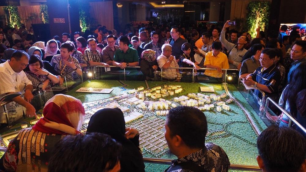 Dalam Waktu 4 Jam, Penjualan Perdana Summarecon Mutiara Makassar Capai Rp 200 M