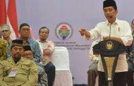 Presiden Jokowi Minta Masyarakat Aceh Rawat Perdamaian