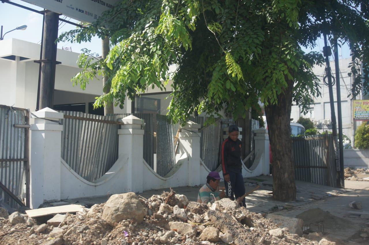 Dinilai Bermasalah, Bupati Panggil Kontraktor Pelaksana Proyek Pedestrian Jalan Ahmad Yani